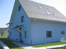 Fassade mit Hauseingang