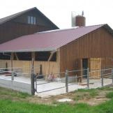 Stallanbau Schübelbach Baujahr 2004