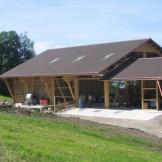 Laufstall Pfäffikon Baujahr 2003